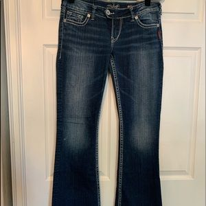 Woman's Silver Tuesday Bootcut Jeans
